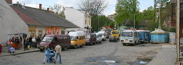 Ужгород. Площа Корятовича