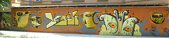 Ужгород. Школа №1. Граффіті