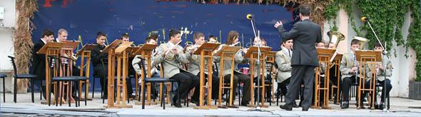 В Ужгороді виступали оркестри