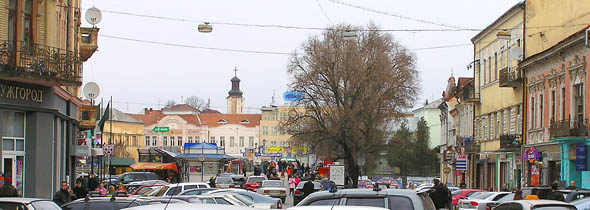 Ужгород. Площа Ш. Петефі